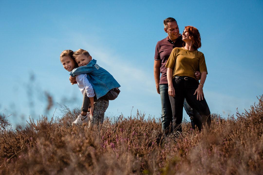 family fotoshoot, family fotoshoot bij de Posbank, Selijn Fotografie, family fotoshoot op locatie