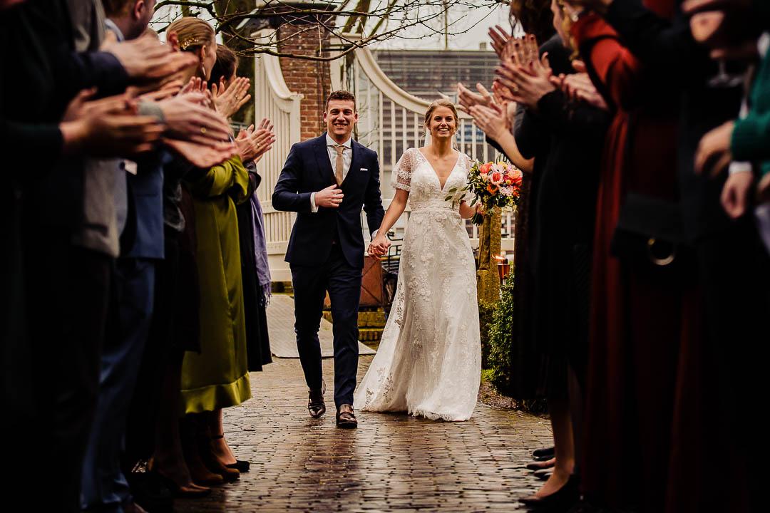 Bruidsfotografie bij Marienhof, Trouwfeest bij Marienhof bij Amersfoort, Bruidsfotograaf Amersfoort