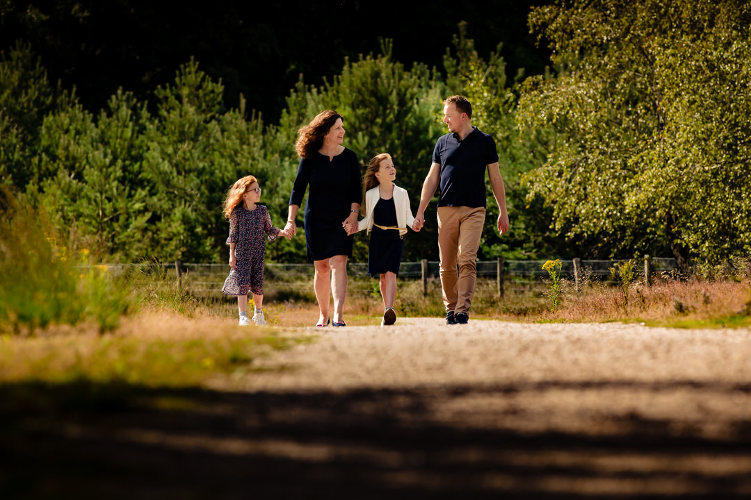 ongedwongen en gezellige familie fotoshoot Apeldoorn